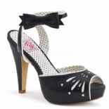 Scarpe Aperte Pin-Up~Couture Bettie-01/BPU